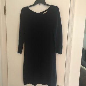 Loft - Navy sweater dress